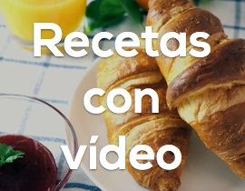 Recetas con vídeo